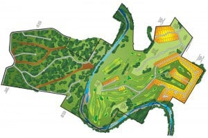 Click to view high-resolution image of golf course map